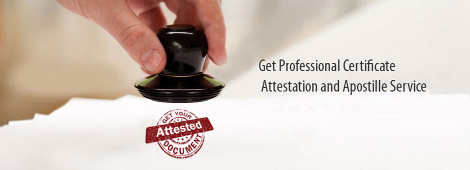 certificate attestation service in pune with stamping