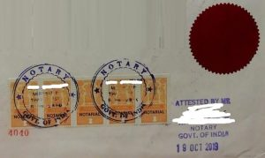 apostille-certificate-attestation -Notary attestation